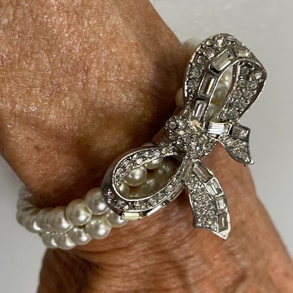 Fashion Vintage Faux Pearl Bracelet